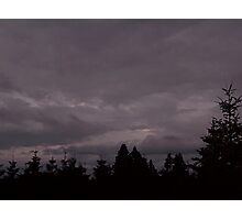Storm Clouds In The Sky Photographic Print