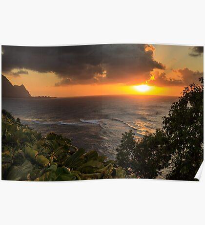 Bali Hai Sunset Poster