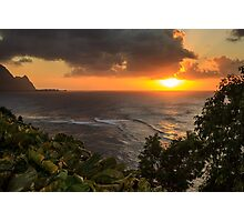 Bali Hai Sunset Photographic Print