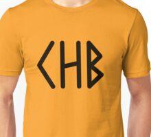 Camp Half Blood initial tee- Black text Unisex T-Shirt