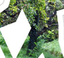 Green Hiker Sticker