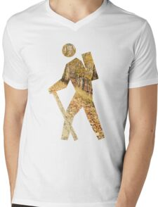 Autumn Hiker Mens V-Neck T-Shirt