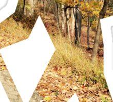 Autumn Hiker Sticker