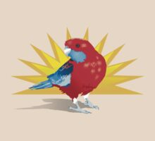 Crimson Rosella by Phoenix-Appeal
