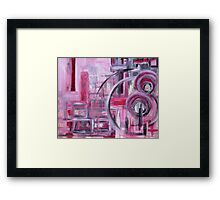 Abstractivated Framed Print
