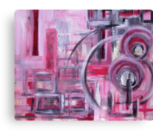 Abstractivated Canvas Print