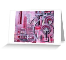 Abstractivated Greeting Card