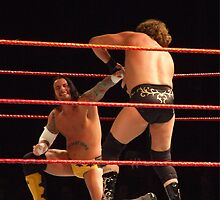 CM Punk & William Regal by palmerley