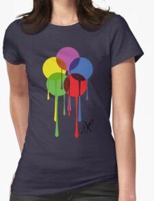Krylon Drip Logo Tribute Womens Fitted T-Shirt