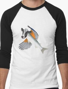 Flying Cowfish Men's Baseball ¾ T-Shirt