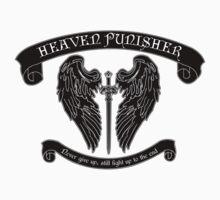 Black Heaven Punisher Emblem Kids Clothes