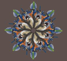 Bird Mandala by brettus