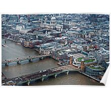 Aerial View of London #1 , England Poster