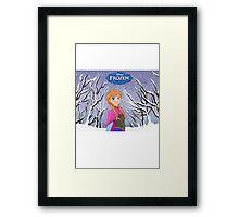Anna Frozen. Framed Print