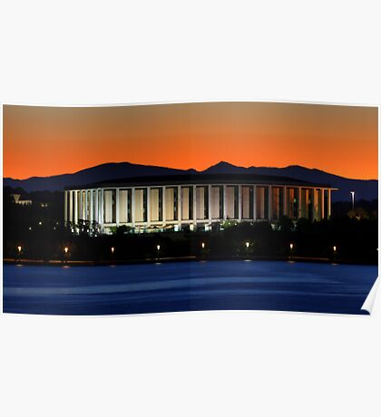 The National Library Of Australia Poster
