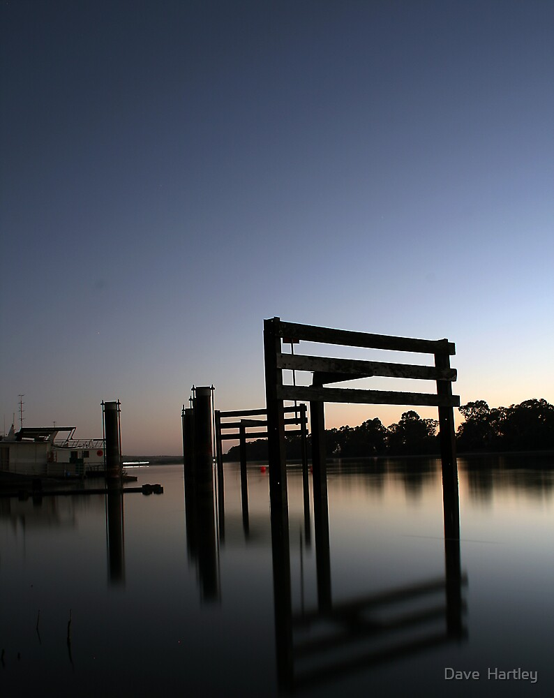 Murray River Reflections by Dave  Hartley