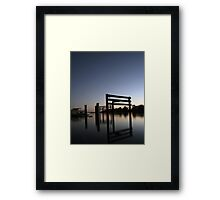 Murray River Reflections Framed Print