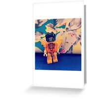 Floral Sunstorm Greeting Card