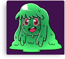 Slime Girl Canvas Print