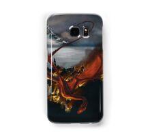 Smaug Terrorizes Laketown Samsung Galaxy Case/Skin