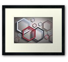 Modern Art Smart and Stylish Framed Print
