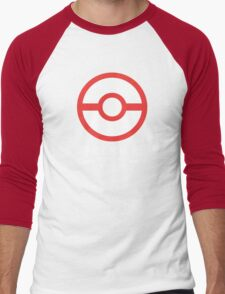 Premier Ball / Pokemon  Men's Baseball ¾ T-Shirt
