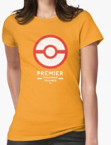 Premier Ball / Pokemon  Womens Fitted T-Shirt