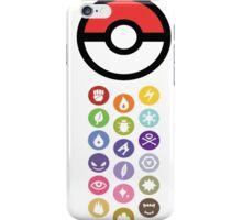 Pokemon Types  iPhone Case/Skin