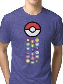 Pokemon Types  Tri-blend T-Shirt