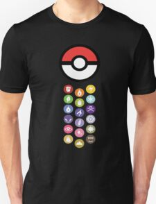 Pokemon Types  T-Shirt