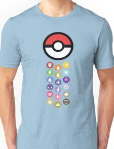 Pokemon Types  Unisex T-Shirt