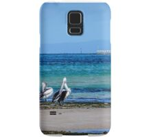pelicans on parade Samsung Galaxy Case/Skin