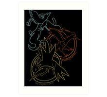 Birds x The Hunger Games Art Print