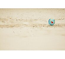 Small globe in a big world Photographic Print