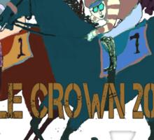 Triple Crown 2015 Horse Racing Design Sticker