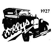 1927 Willys Photographic Print