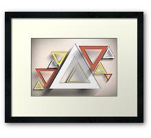 Modern Art Smart and Stylish Rectangles Framed Print