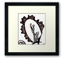 Feminine Language Framed Print