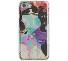 Abstract Distractions iPhone Case/Skin