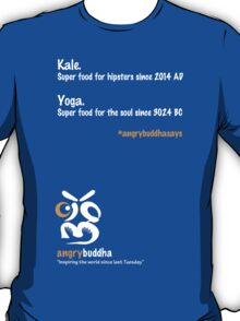 Yoga - Super food for the Soul (Dark) T-Shirt