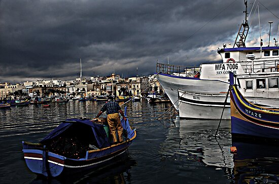 Fisherman by RayFarrugia