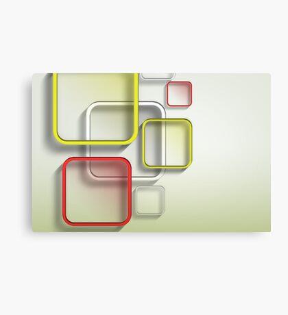 Modern Art Smart and Stylish Squares Canvas Print