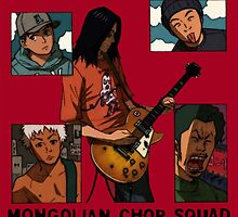 Mongolian Chop Squad by CrudeStatue