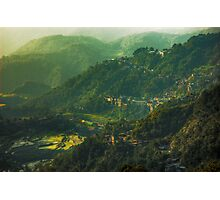 Morning in the Mountains Photographic Print