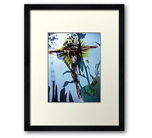 The Rose of Sharon and the Bright and Morning Star Jesus Framed Print