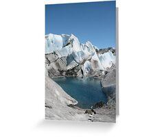 Glacier Pool Greeting Card