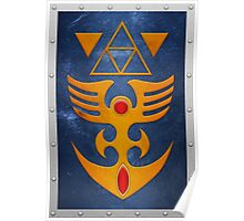 ALTTP Iron Shield Poster