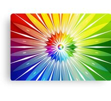 Modern Art Smart Wall Art Psychedelic Canvas Print