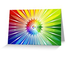 Modern Art Smart Wall Art Psychedelic Greeting Card