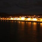 Llandudno Front At Night by Kimberley  x ♥ Davitt